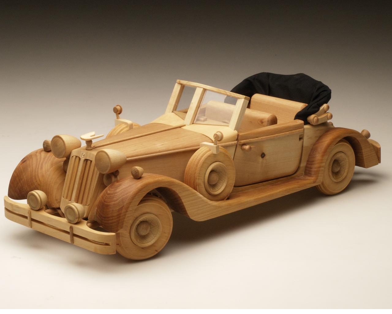 Модель машины своими руками из дерева