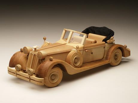 Как сделать модель машины из дерева